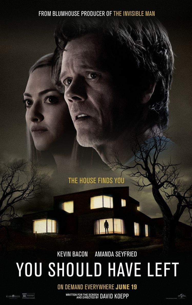 You Should Have Left Movie In 2020 Kevin Bacon Amanda Seyfried Psychological Thrillers