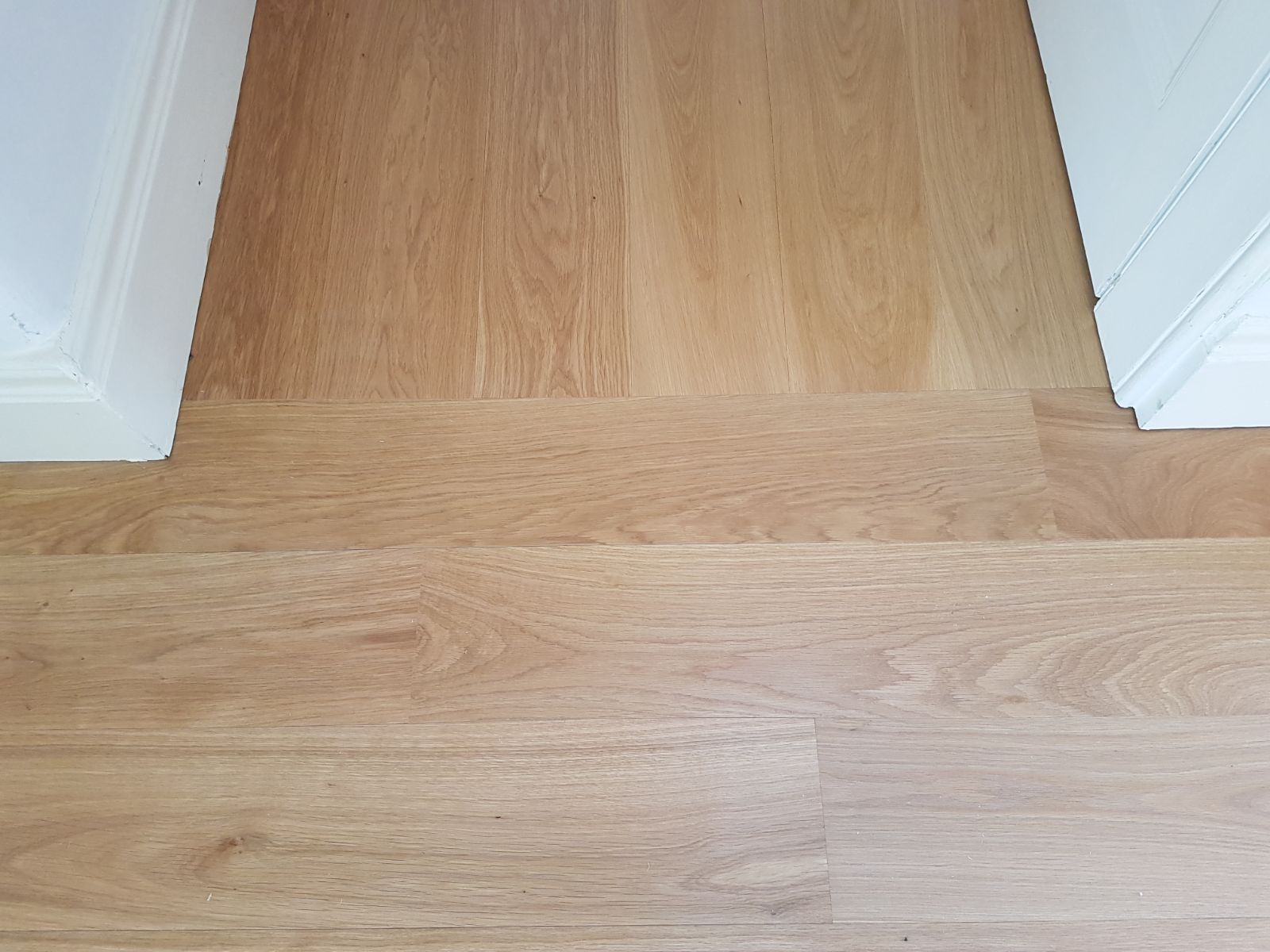 Wood flooring doesn't all have to be laid in the same