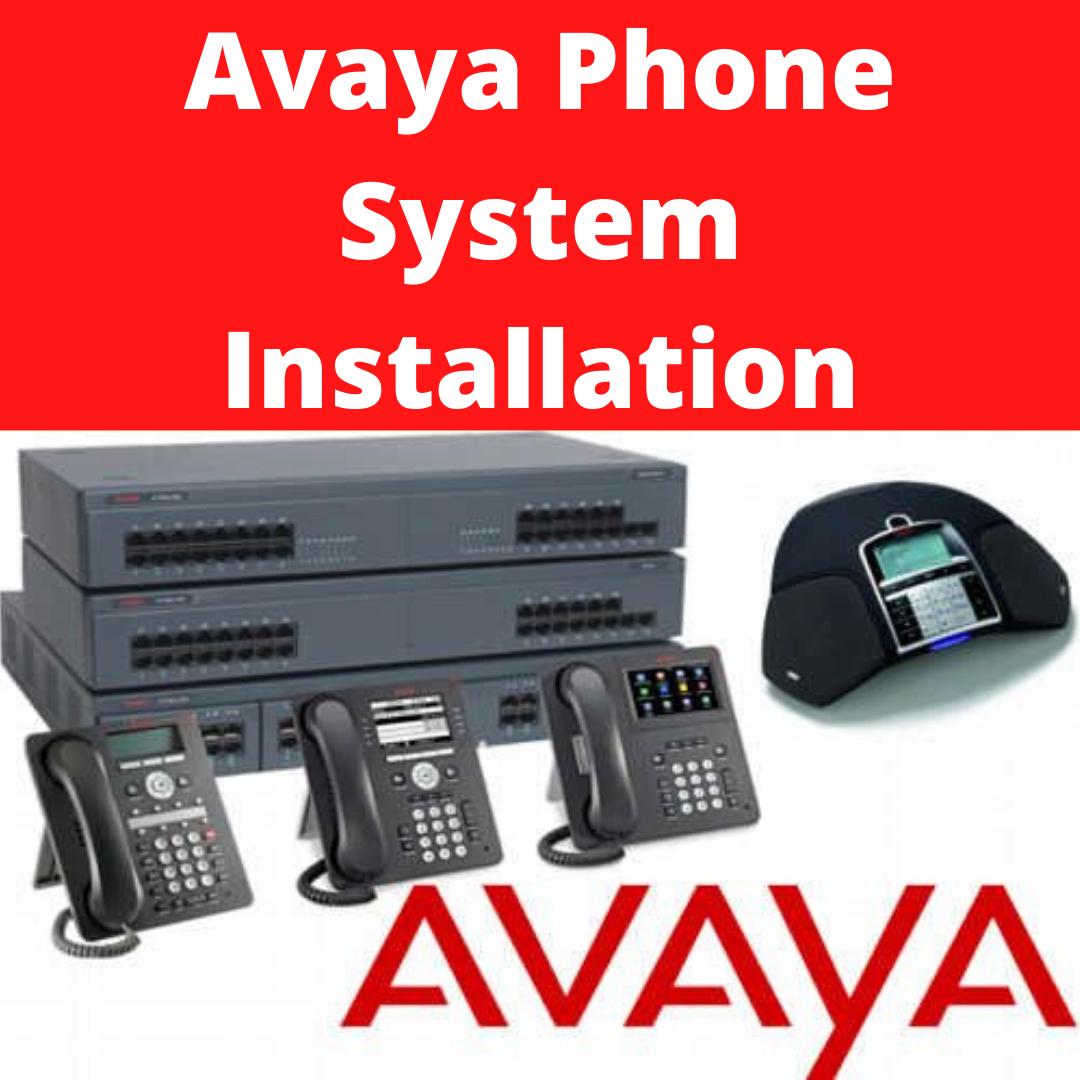 Avaya Phone System Installation London in 2020 Phone