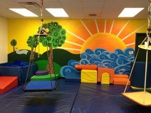 sensory room part 1  sensory rooms school murals playroom