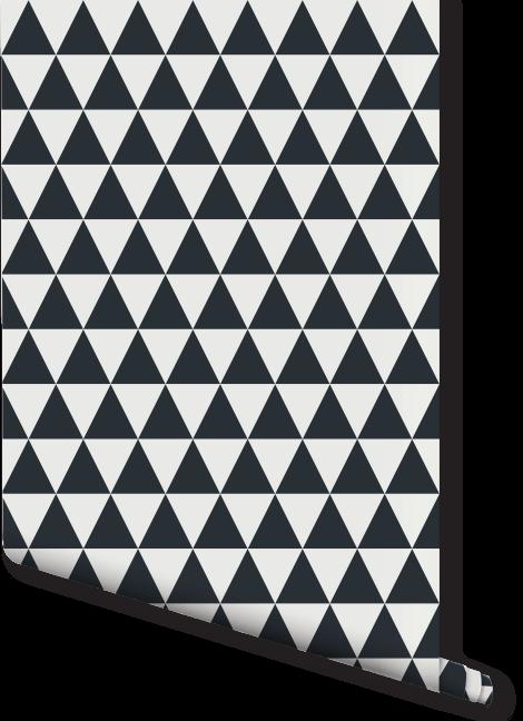Small Triangle Print Wallpaper | Milexa