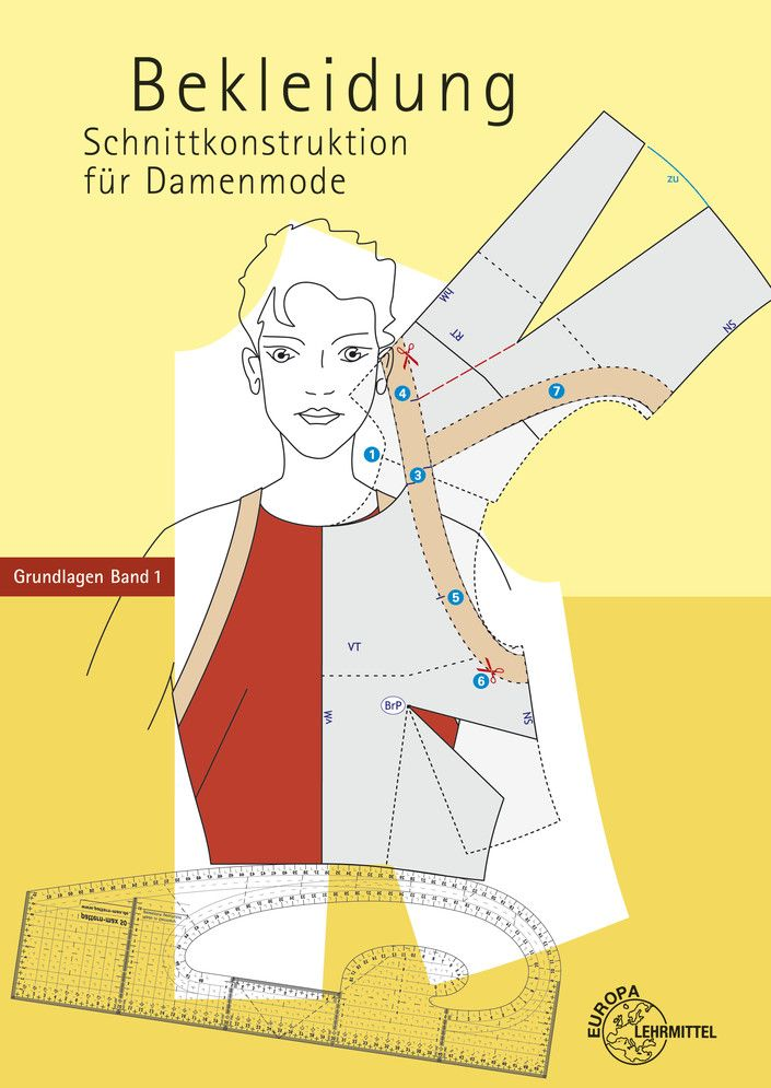 Bekleidung Schnittkonstruktion Fur Damenmode Schnittmuster Musterentwurf Damenmode