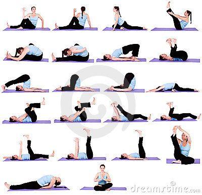 great yoga position reminders  pilates exercicios yoga
