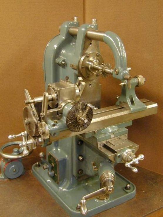 Pratt Whitney Bench Mill Other Machine Tools