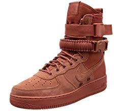 amazon  nike men's sf af1 casual shoe 75 barbecue