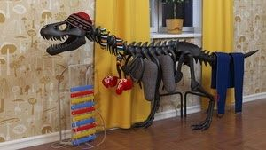 dinosaur = radiator = dinosaur