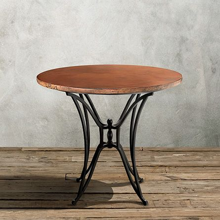 An Arhaus Signature Collection The Copper 38 Round Table Top