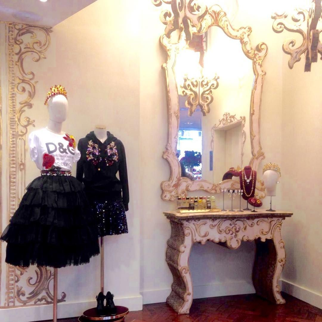 "DOLCE&GABANNA, Rue de Faubourg Saint-Honore, Paris, France, ""D&G Loves Paris"", pinned by Ton van der Veer"