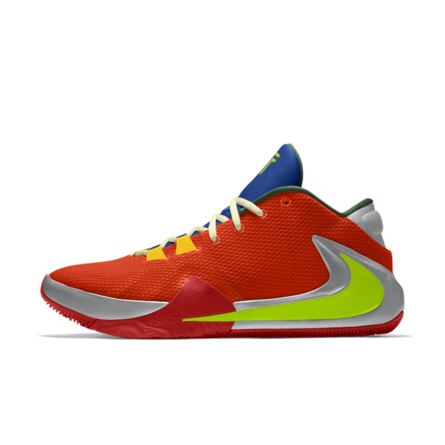 Chaussure de basketball personnalisable Nike Zoom Freak 1 By