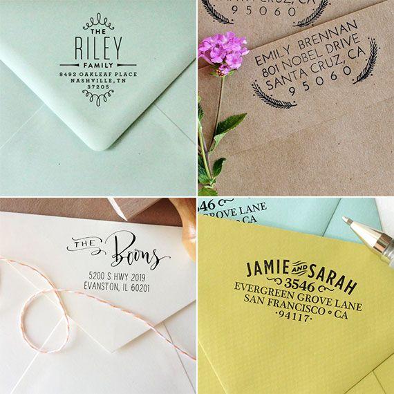 Little White Whale Return To Sender Custom Address Stamp Wedding Invitation Inspiration Return Address Stamp