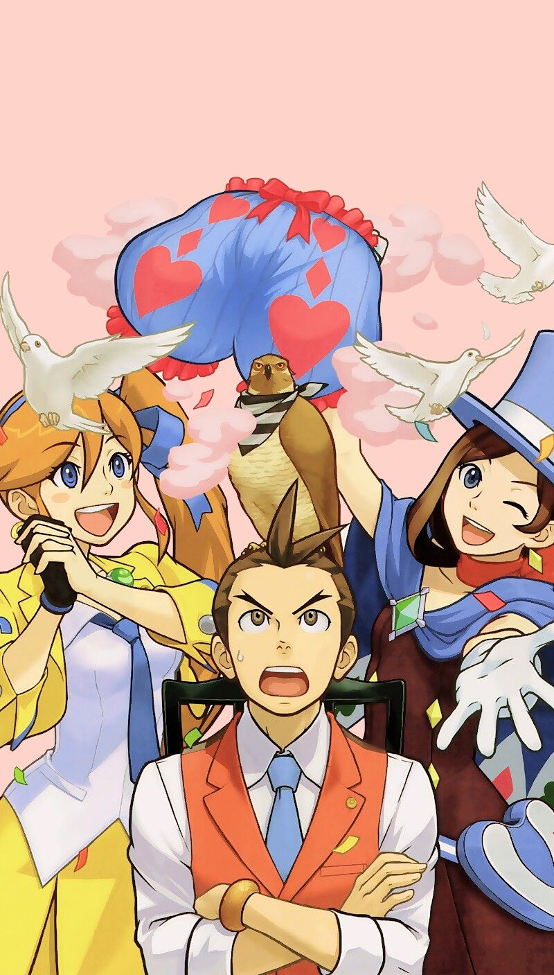 Pin By Grace Laurie On Phoenix Wright Apollo Justice Phoenix