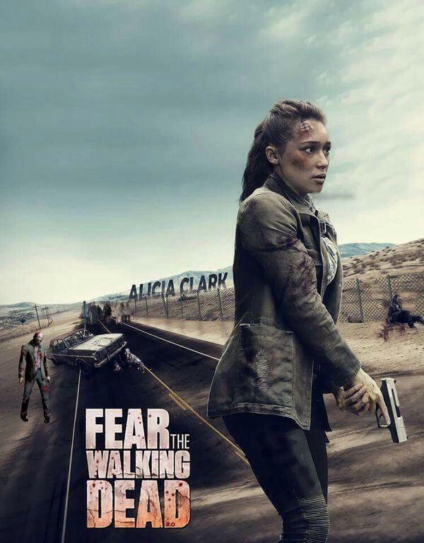 Alicia Clark Alycia Debnam Carey Fear The Walking Dead Amc Walking Dead Fear The Walking Dead The Walking Dead