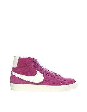 Nike Blazer Pink High Top Trainers   clothe thyself a5967c93362f