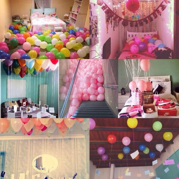 1000 Ideas About Anniversary Surprise On Pinterest: 16th Birthday Suprises