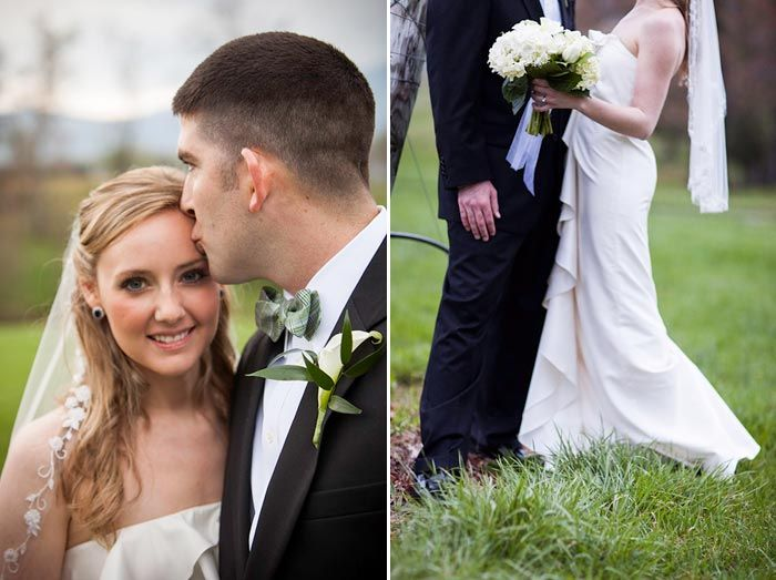 A  gorgeous Charlottesville bride in one of our beautiful veils!  Rob Garland Photography