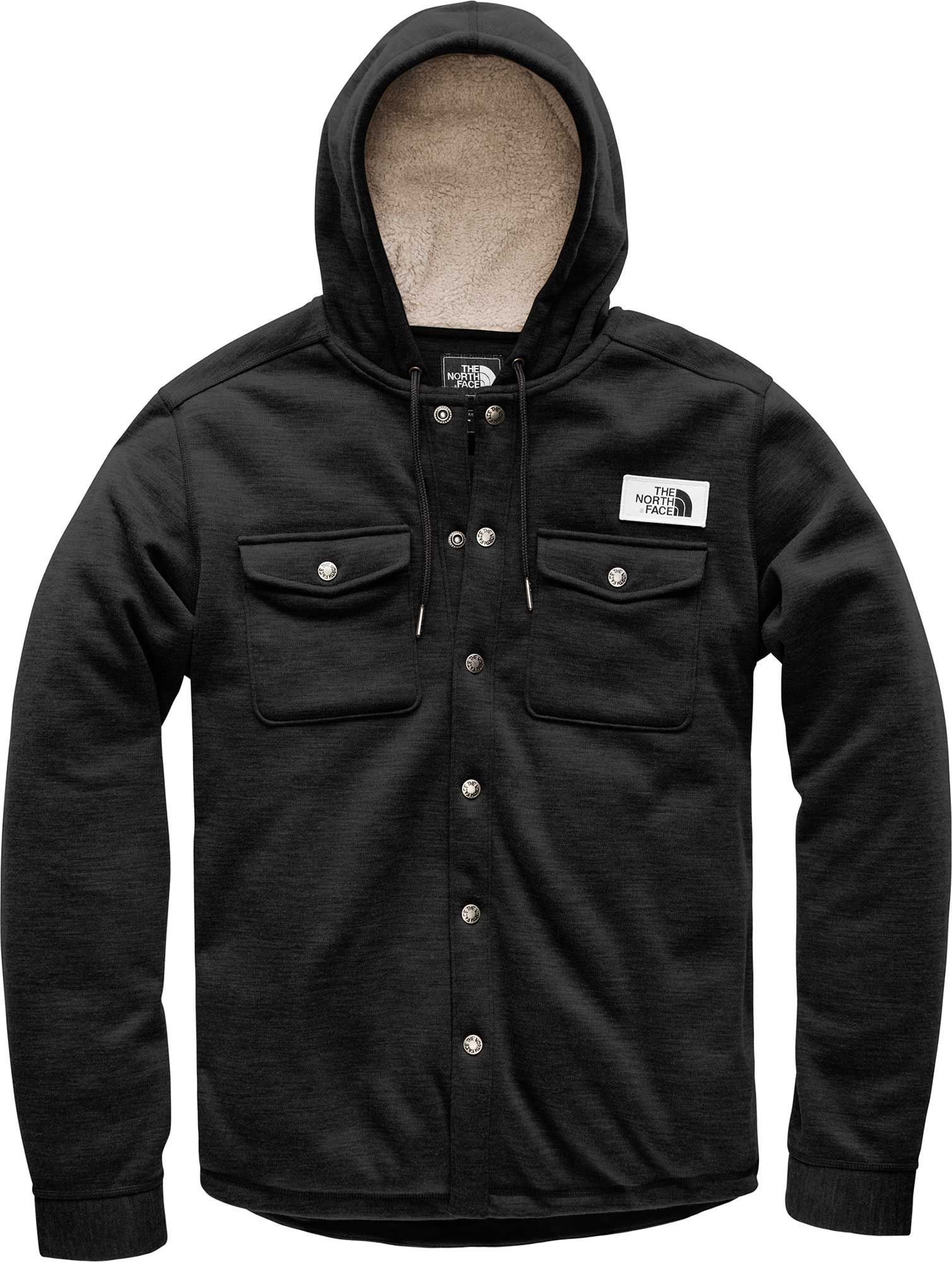 The North Face Men s Sherpa Patrol Snap Up Fleece 60229be99