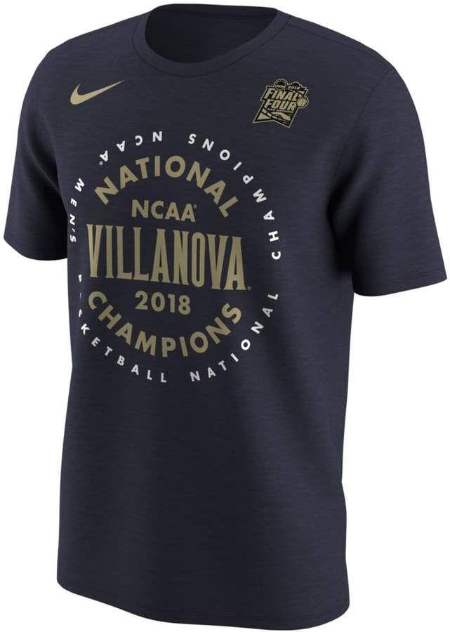 2b2410f3 Men's Nike Villanova Wildcats 2018 National Champions Tee in 2019 ...