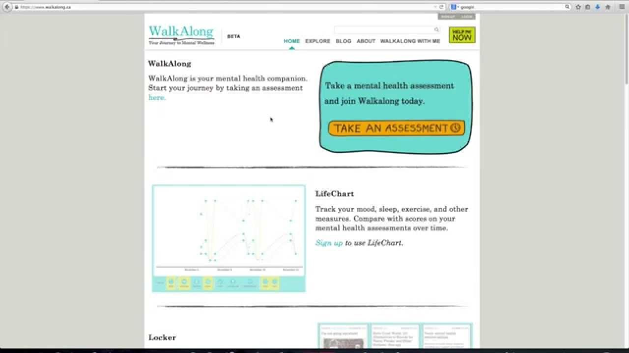 Promo Video For Walkalong  The Web Portal To Empower Youth