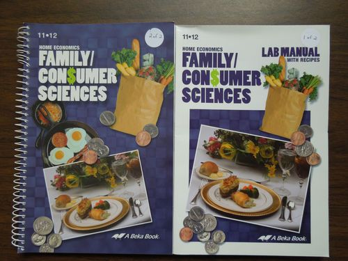 A beka home economics family consumer sciences grades 11 12 my girls are loving this home economics program from a beka book fandeluxe Gallery