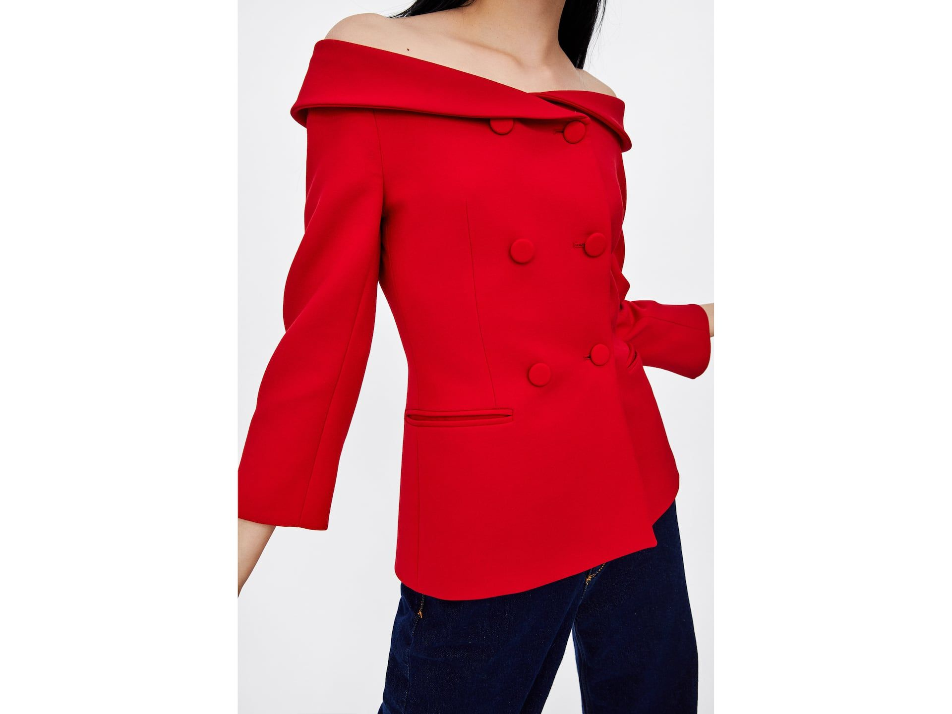 099d4d5dc7 BOAT NECK BLAZER Blazers For Women