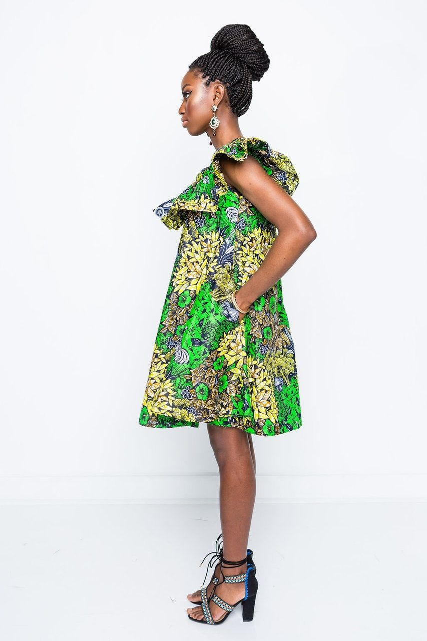 DeLyla Twumwaah Dress Dresses, Printed shift dress