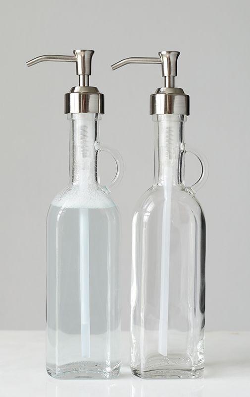 Amazon Com Mdesign Modern Plastic Refillable Liquid Soap Dispenser Pump Bottle For Bathroom Vanity Countertop Kitc Soap Pump Dispenser Soap Dispenser Mdesign