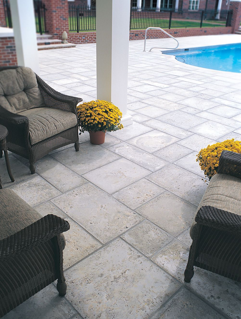 Dolphin Grey Paving Color Pool Pavers Pavers Backyard Peacock
