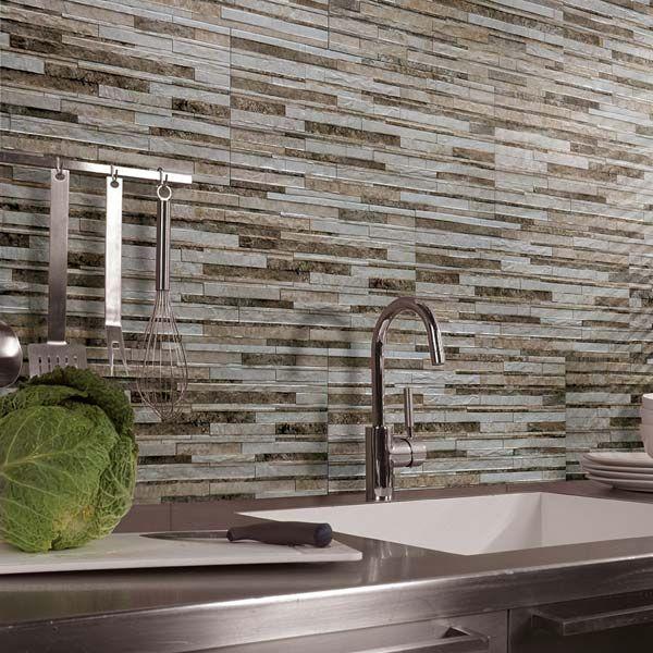 Liguria Splitface Tiles For Bathroom Blacksplash Kitchen Wallskitchen