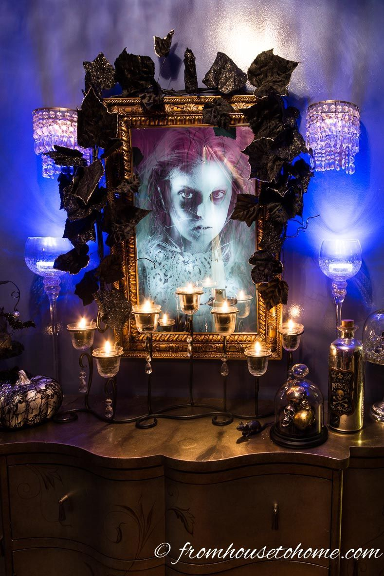 How To Make Your House Look Haunted For Halloween Halloween Decor - halloween house decoration ideas
