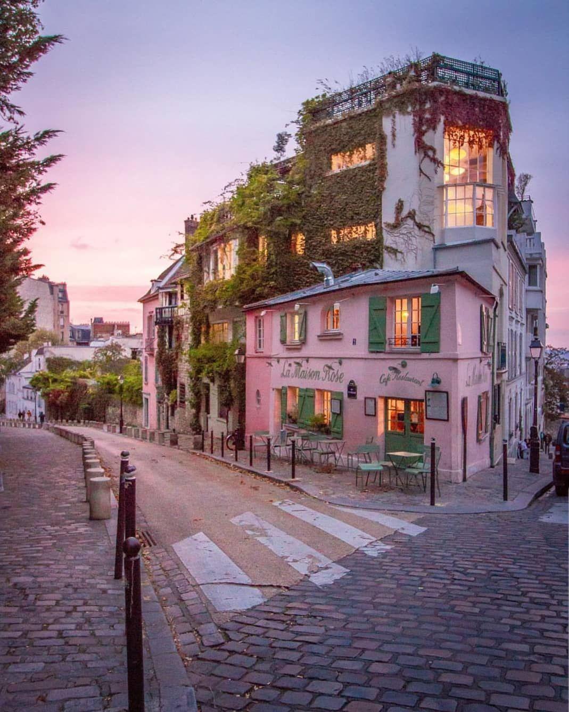 "Paris • France 🇫🇷 on Instagram: ""La Maison Rose 💗 Good Morning"