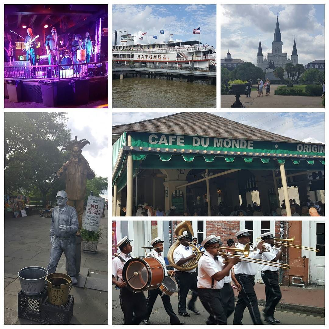 Enjoying The Sites Here In The N.O. #neworleans Which Is