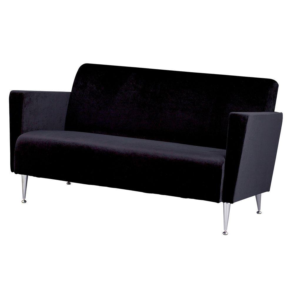 Remarkable Memphis Velvet Chrome Sofa Chair Overstock Shopping Creativecarmelina Interior Chair Design Creativecarmelinacom