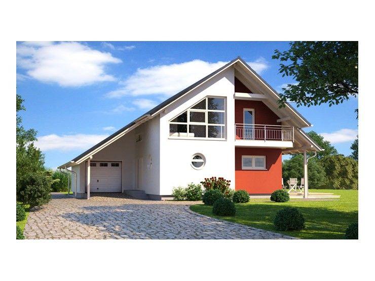 Musterhaus modern satteldach  Living 189 - #Einfamilienhaus von Hanlo Haus Vertriebsges. mbH ...
