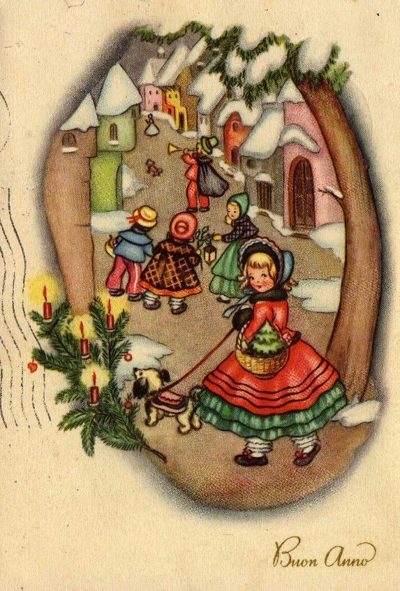Miss Jane: Christmas Cards 1951