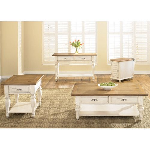 found it at wayfair - vanbrugh coffee table set | coffee and end