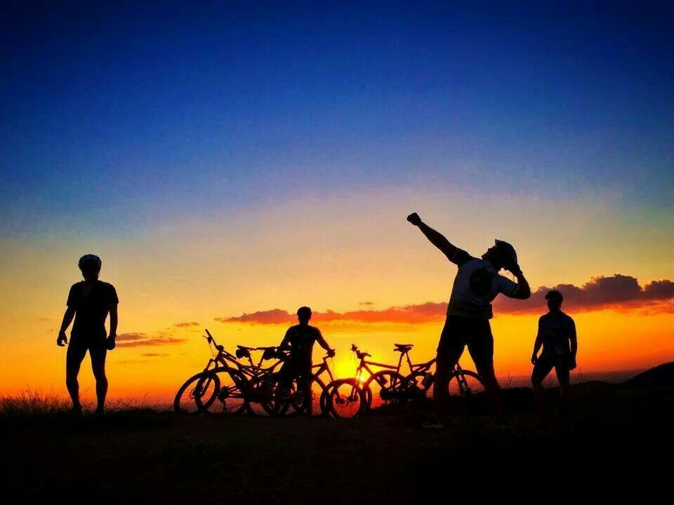 Liberdade e bike