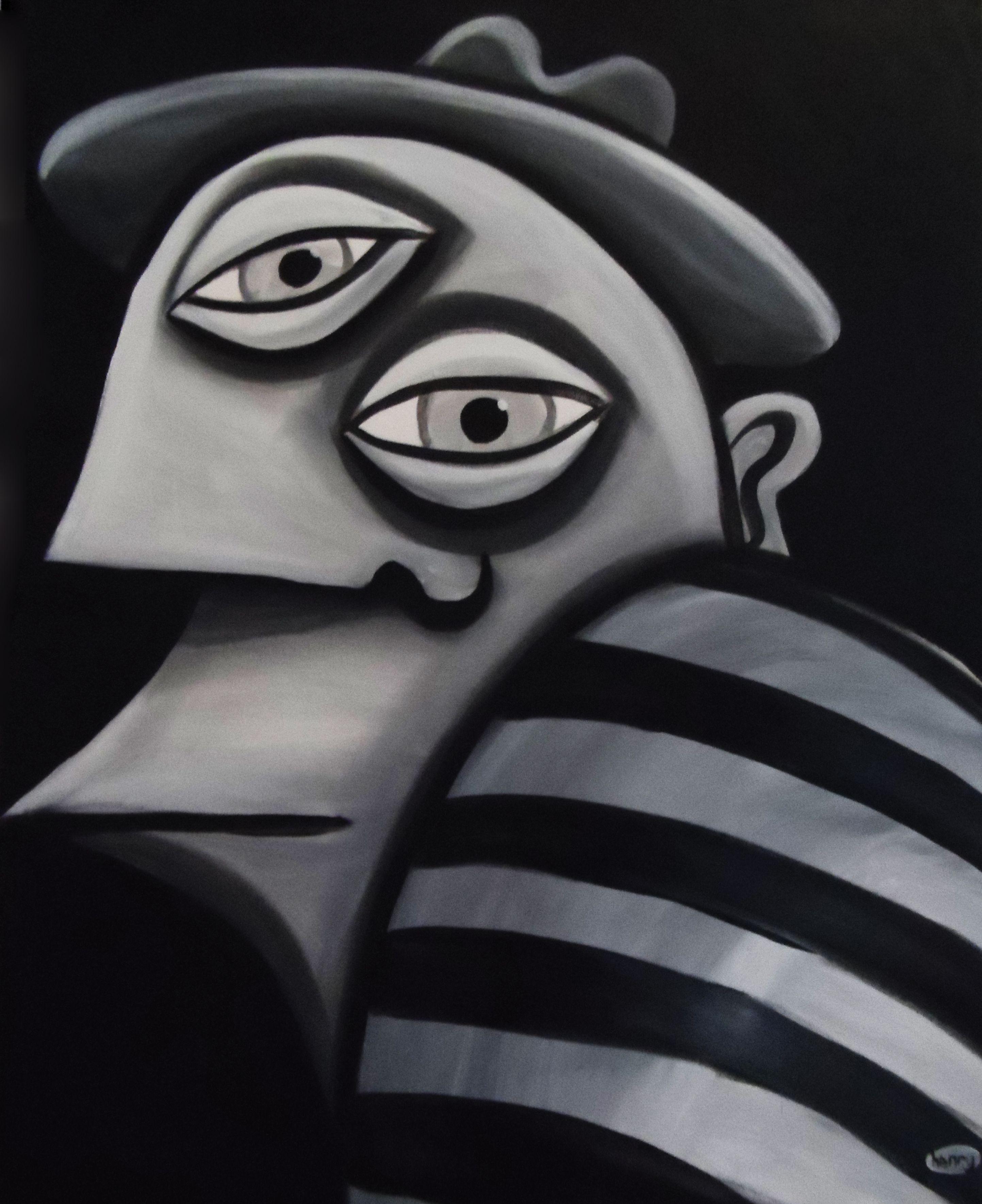 Portrait Of Pablo Piccaso