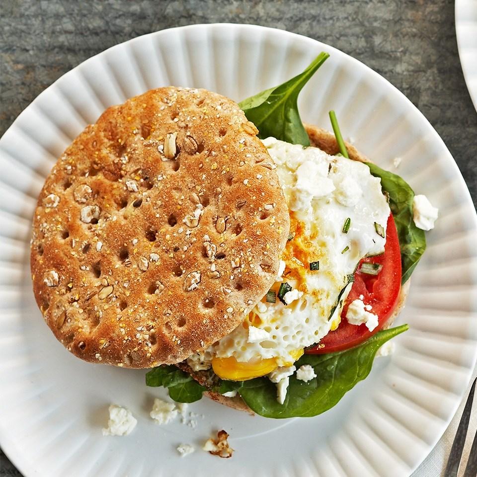 Mediterranean Breakfast Sandwiches images