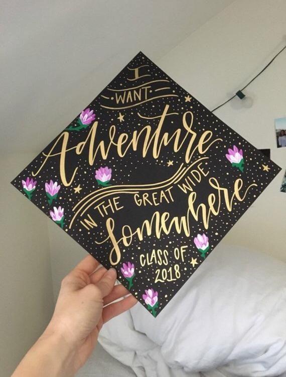 Custom grad cap, custom graduation cap, painted grad cap, grad cap design, graduation cap design, pa
