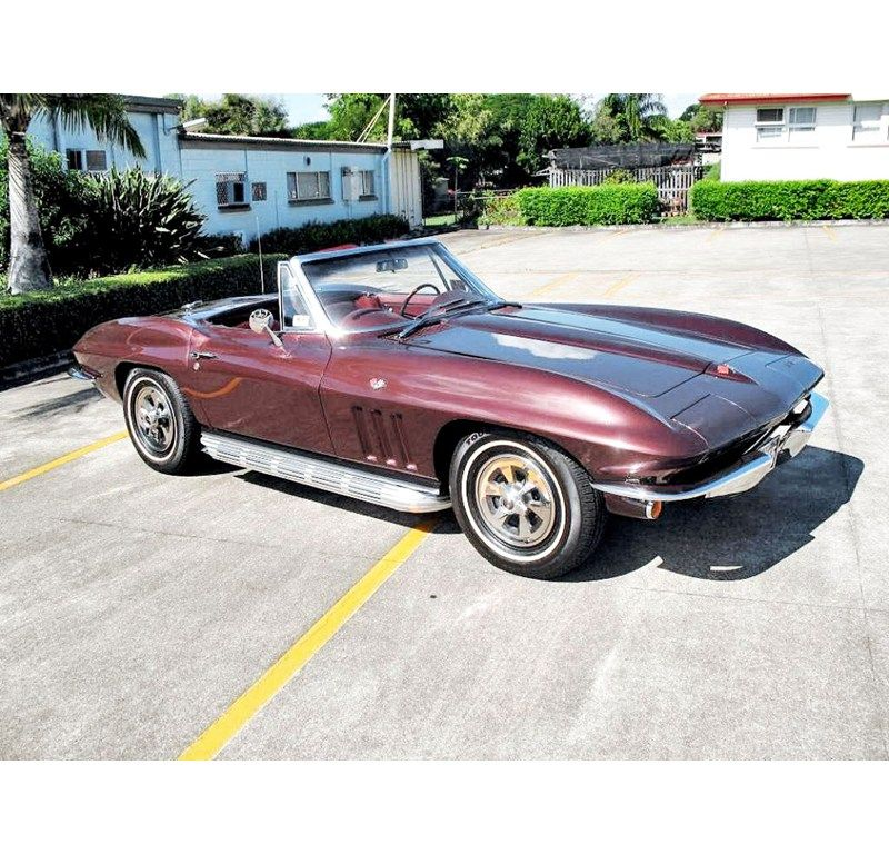 1965 CHEVROLET CORVETTE CONVERTIBLE 327/350 for sale | Trade Unique ...