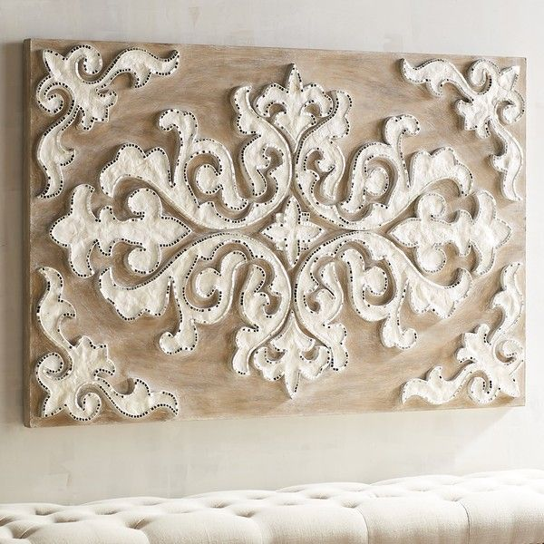 Pier 1 Imports Capiz Inlay Wall Panel 299 Liked On Polyvore Featuring Home Home Decor Wall Art Natural Pie Tile Art Medallion Wall Decor Wall Paneling