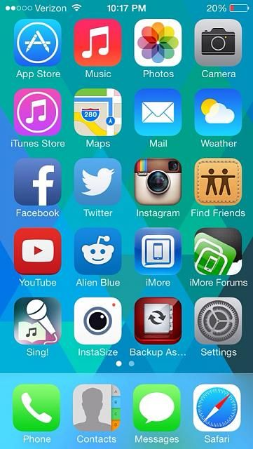 Best home screen pictures iphone