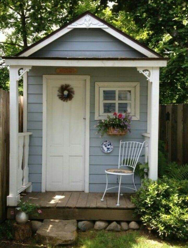Like This But Also With A Roof To The Side Cover Potting Bench Small