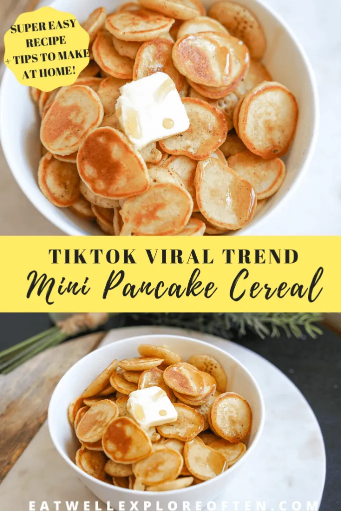 How To Make The Tiktok Mini Pancake Cereal Trend Eat Well Explore Often Recipe Interesting Food Recipes Perfect Brunch Recipes Recipes