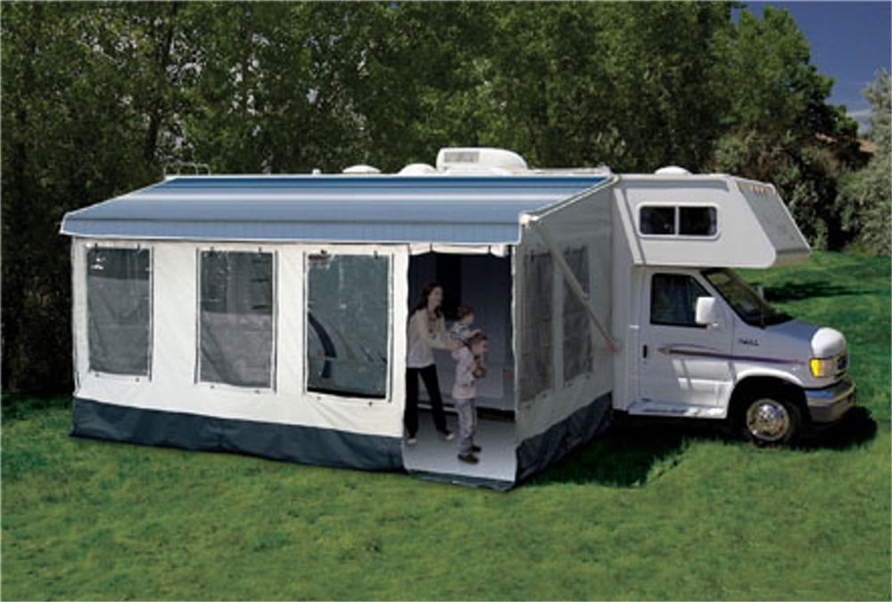 14 Foot Screen Room For Rv Motorhomes Campers Camper Awnings Camper Camping