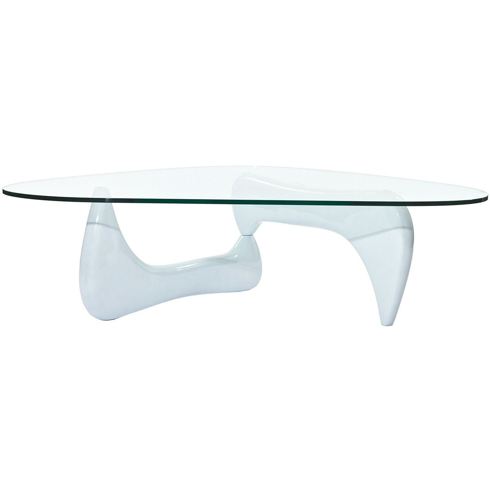 Have To Have It East End Imports Triangle White Wood And Glass