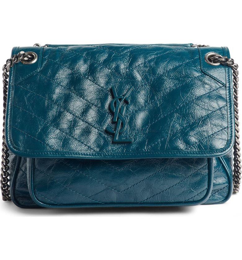 1a3bf66b31 Medium Niki Leather Shoulder Bag