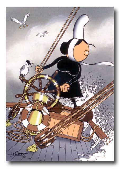 Humour breton carte postale dessin pinterest ecole - Dessin 2cv humour ...