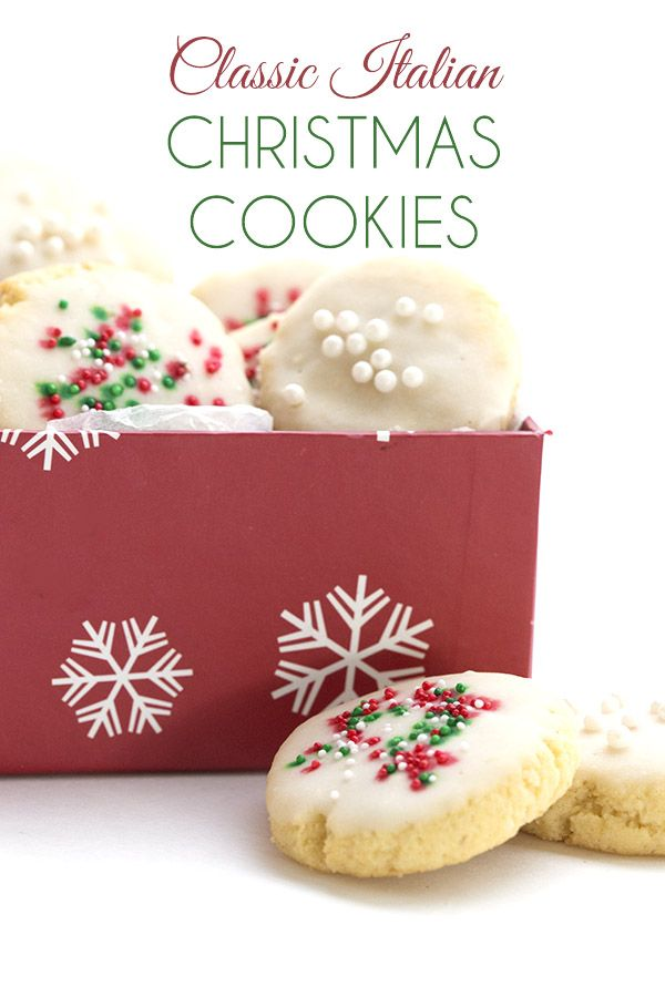 Classic Italian Christmas Cookies And A Swerve Baking Giveaway Low