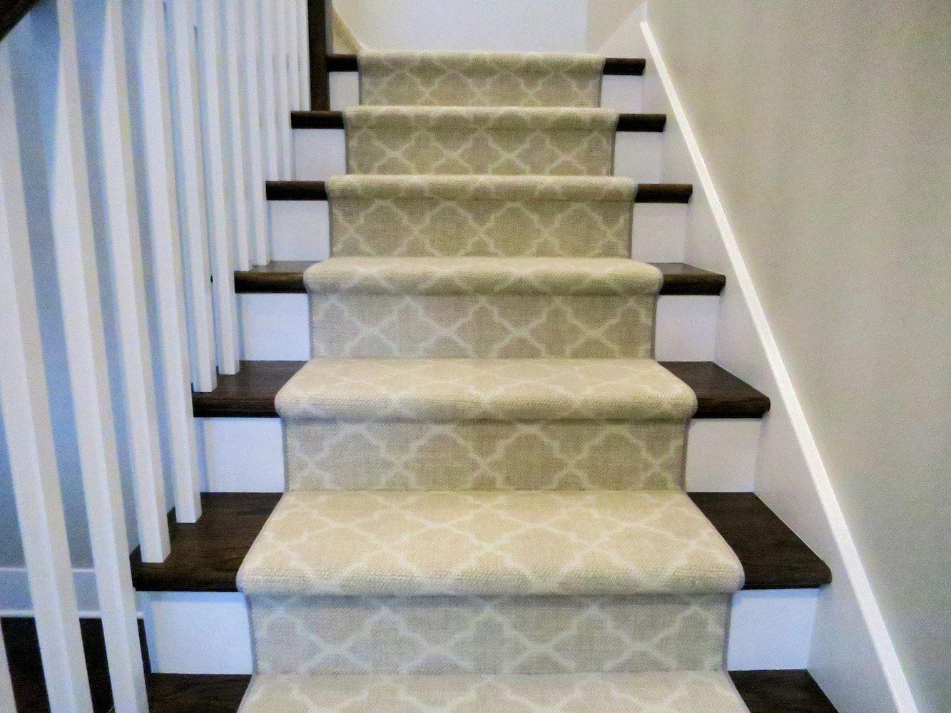 Chicago Area Stair Runner Design Installation Custom Fabrication Kashian Bros Carpet And Floori Stair Runner Stair Runner Installation Stair Runner Carpet